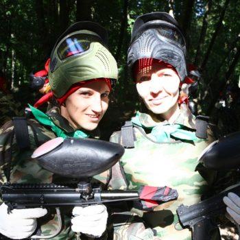 девушки перед сражением
