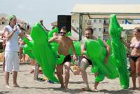 эстафета на пляже