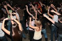 дискотека в клубе