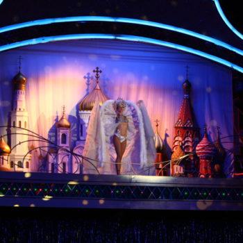 купола кремля и русских церквей