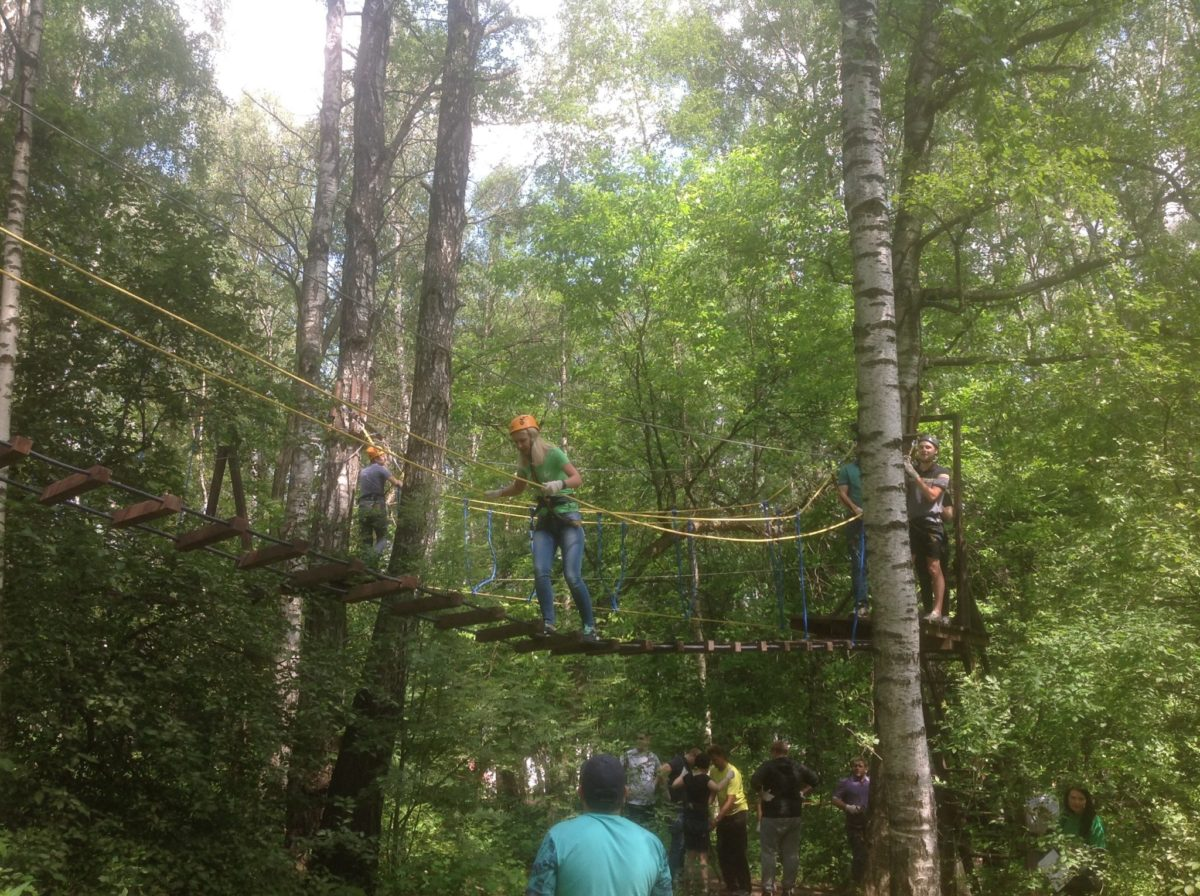 лесной веревочный город 2