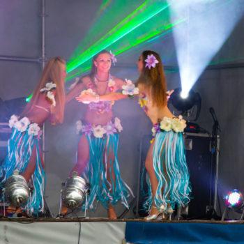 выступление танцовщиц