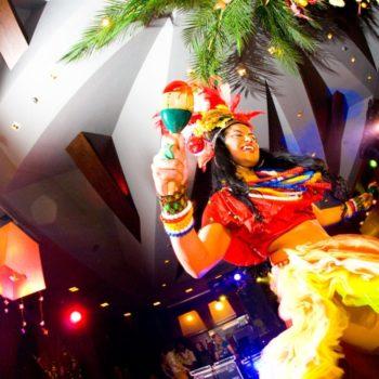 тропическая вечеринка в новый год