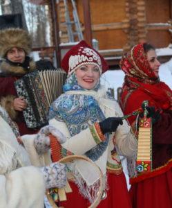 русские народные гуляния