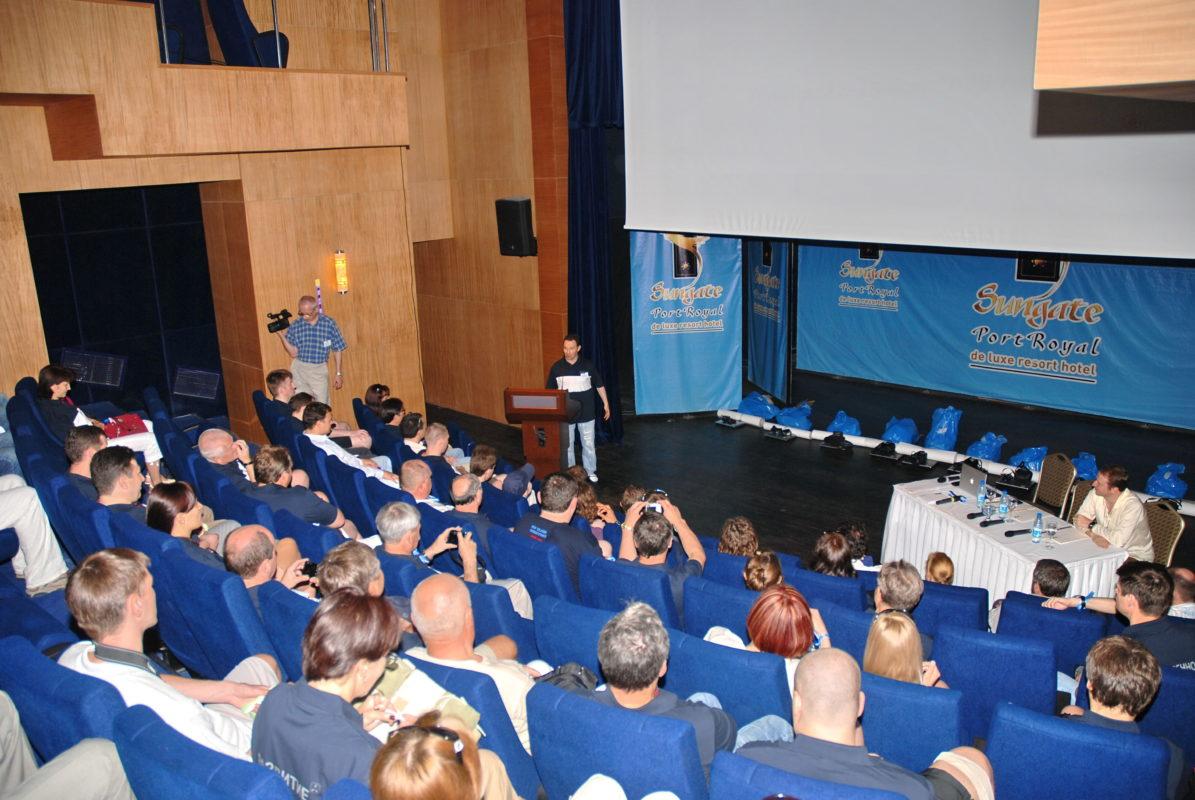 организация конференции за рубежом
