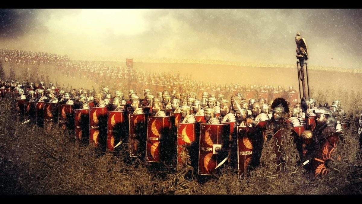 Римские Легионеры - командное взаимодействие