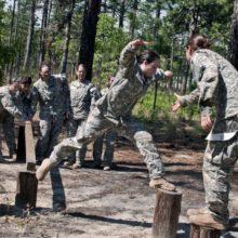 веревочный курс в армии США
