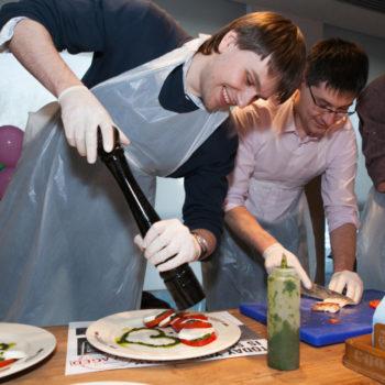кулинарный тимбилдинг на 23 февраля