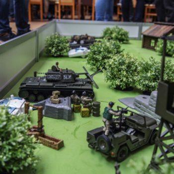 танковый бой на 23 февраля