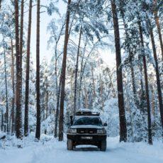 Джип тур зимой
