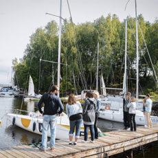 Яхт-клуб Орешка