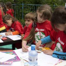 Творческий тимбилдинг для детей