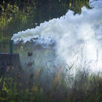 дым на  игровом поле