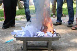 обряд огня