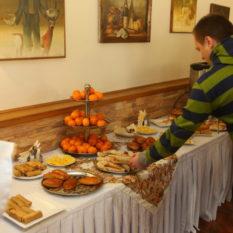завтрак в русском стиле
