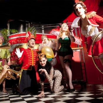 артисты циркового шоу