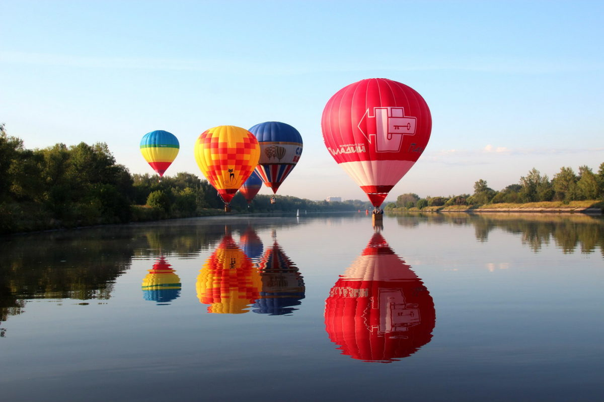 Корпоративные полеты на воздушном шаре